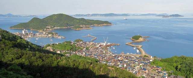 玉津島と瀬戸内海
