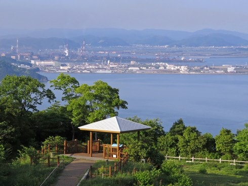 後山公園展望台 からの眺め 画像1
