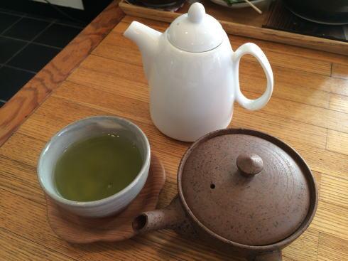 福山 勉強堂 本店の日本茶