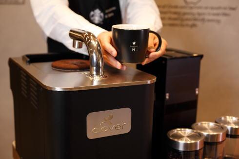 スタバ シャレオ店「驚くほど香り豊か」な新マシン導入で、店舗リニューアル