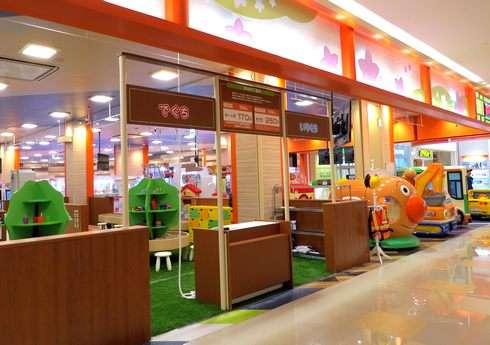 ゆめタウン廿日市 ナムコ、広島最大級のキッズコーナー