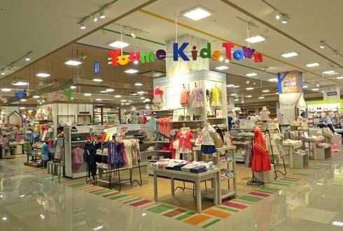 ゆめタウン廿日市、子供服 キッズコーナー