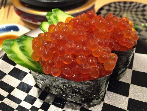 すし辰、イクラ寿司