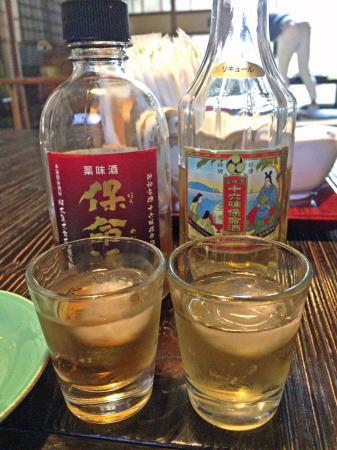 鞆の浦 田渕屋 保命酒の試飲2