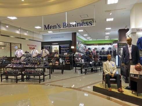 ゆめタウン廿日市テナントに、フォーマルウェア、呉服、紳士服や下着・靴など