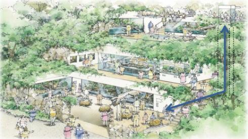 安佐動物公園 再整備計画 はちゅうるい館など