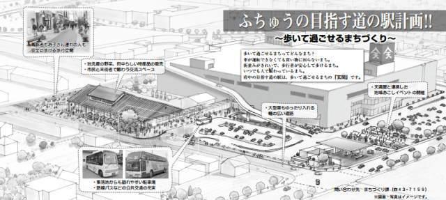 道の駅びんご府中 イメージ図