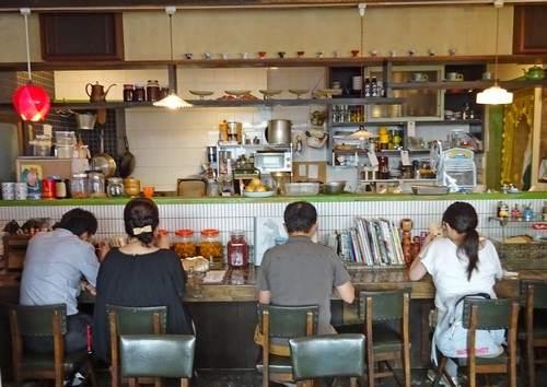 小春カフェの店内の様子