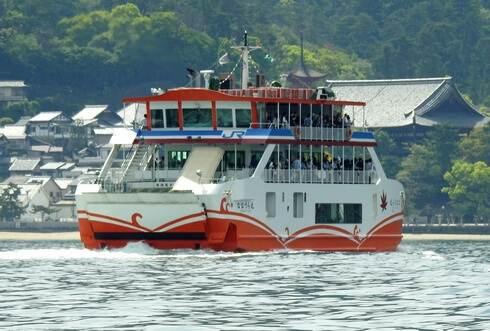 JR宮島フェリー ななうら丸を新造船、2016年から運航