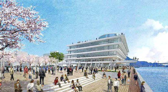 尾道市役所が変わる!新庁舎計画と、水辺のにぎわいスポットづくり