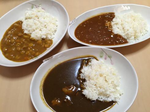 瀬戸内カレー&GABAライス 3食たべくらべ