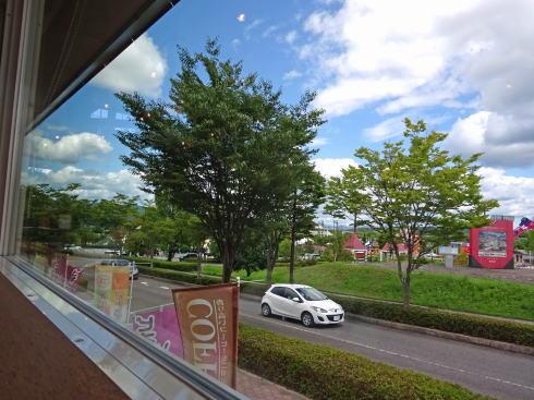 三次ワイナリー Cafe Vineから見る景色