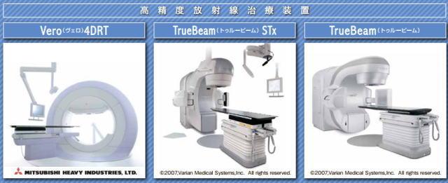 高度放射線治療装置が備えられた広島がん高精度放射線治療センター