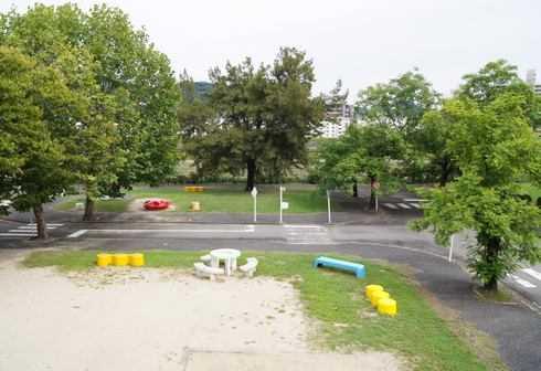 大芝公園交通ランド 園内の様子