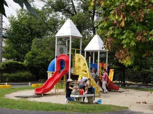 大芝公園交通ランド、遊具もあり