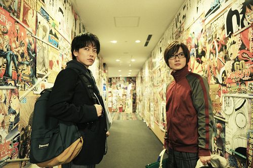 佐藤健、神木隆之介が広島で舞台挨拶 「バクマン。」映画ヒット御礼で