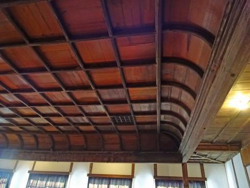 上下町 翁座 屋根の作り