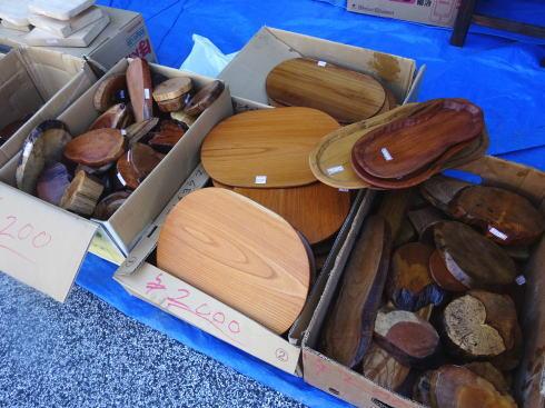 白壁まつり 木工製品市2
