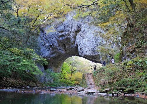 秋の帝釈峡、雄橋(おんばし)へ!自然のパワーを感じられるスポット