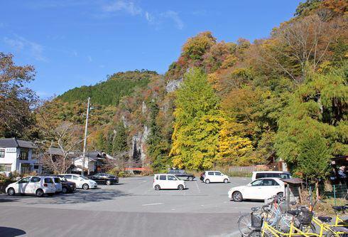帝釈峡 第一駐車場