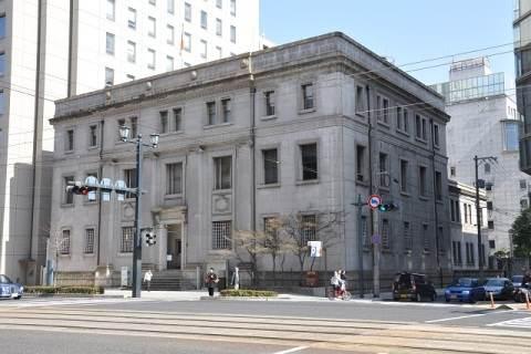 旧日本銀行広島支店にて、広島交響楽団のミニコンサート開催