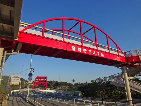 第三音戸大橋は展望台の役目も!海にせり出す歩道付き「橋を眺めるための橋」