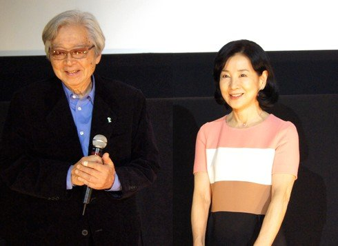 吉永小百合さん・山田洋次監督が『母と暮せば』 福山で舞台挨拶