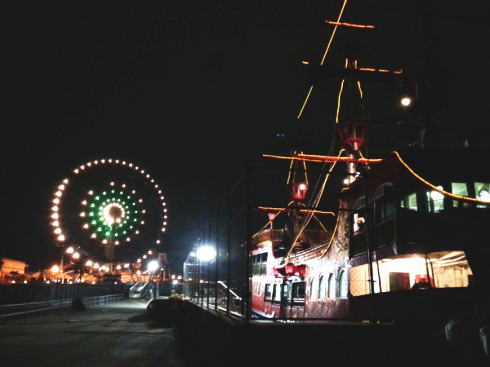 海賊船 海王とマリーナホップ観覧車
