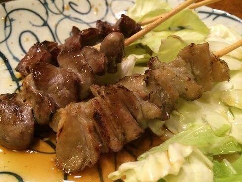 串焼きがおいしい、横川の狄(テキ)