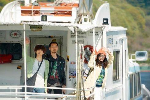 モヒカン故郷に帰る、映画のロケ地は広島のとびしま海道
