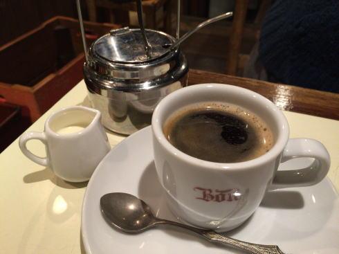 尾道 あくびカフェー パフェセットのコーヒー