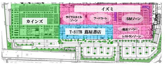 広島西部SCプロジェクト 1F図面