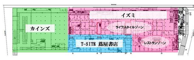 広島西部SCプロジェクト 2F図面