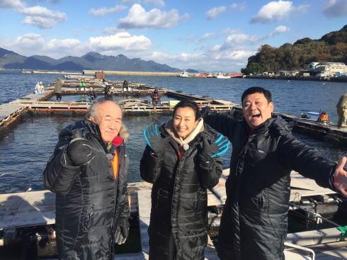 浅田舞・温水ら、大竹・阿多田島で「絶品漁師めし」堪能
