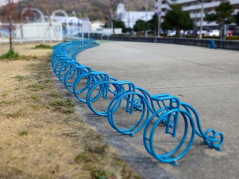 きらり・さかなぎさ公園 自転車置き場