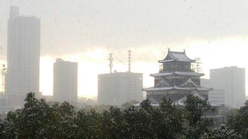 広島の冬景色 中区の風景