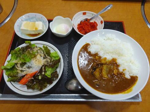 焼肉 三甲 ビーフカレー定食