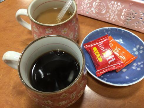 焼肉 三甲 食後のコーヒー