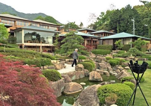 日本庭園ランキング2015 石亭の庭