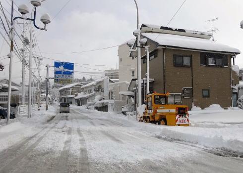 広島の冬景色 庄原市の風景2