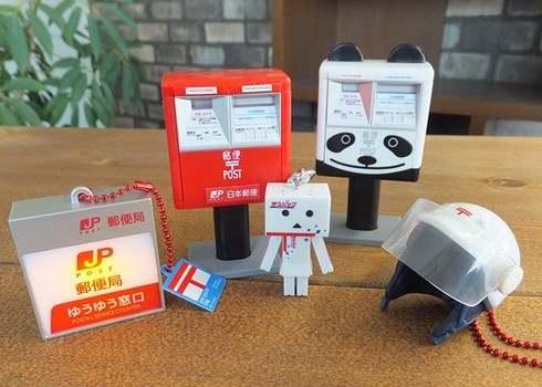全国で広島・呉市だけ!郵便局にガチャガチャのカプセル玩具