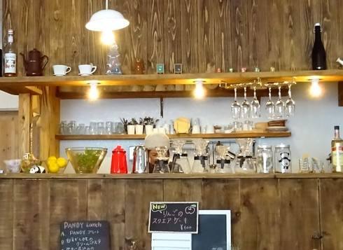 PANDY(パンディー)、世羅の小さな隠れ家的カフェ