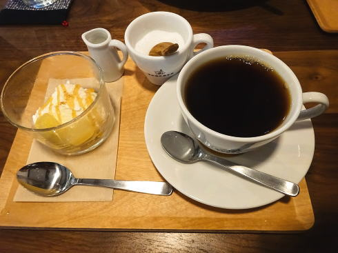 西条 古民家カフェ トレカサ ランチのデザート
