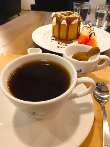 西条 古民家カフェ トレカサ シフォンケーキと珈琲