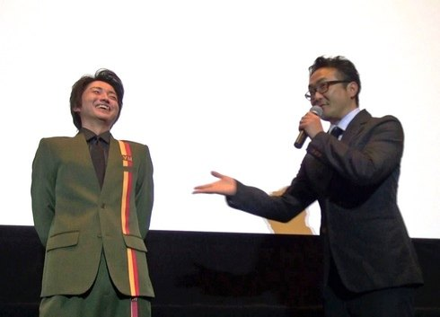 平川監督、広島で舞台挨拶「僕だけがいない街」