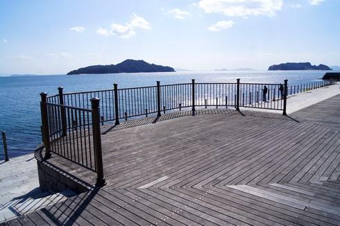 梶ヶ浜海水浴場の見晴らし台