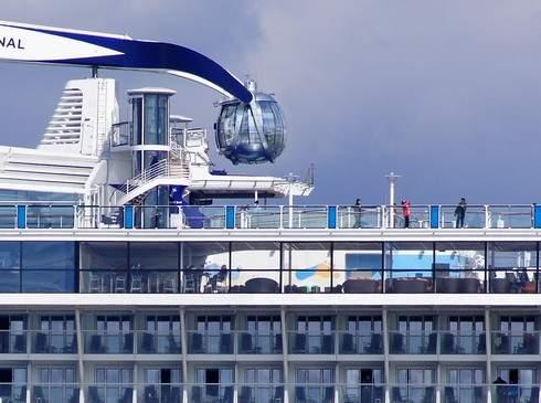 クァンタムオブザシーズ 船上にある球体