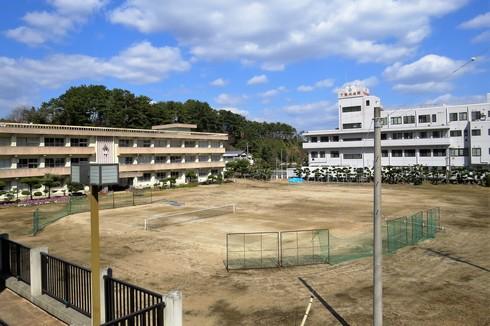 下蒲刈病院と下蒲刈中学校