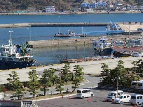 映画 モヒカン故郷に帰る、ロケ地の漁港