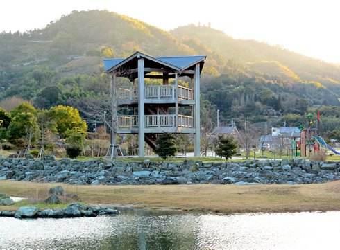 大津泊庭園の展望台